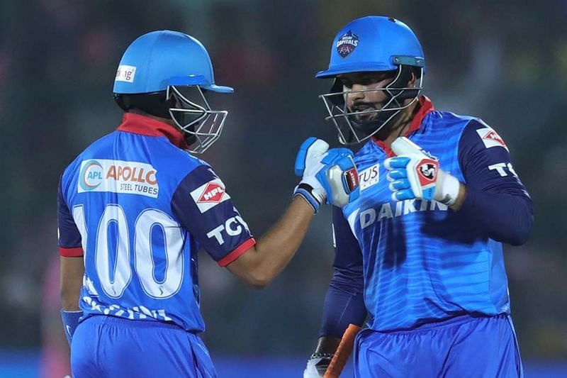 Prithvi Shaw and Rishabh Pant have not been at their best in IPL 2020 [P/C: iplt20.com]