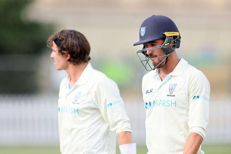 Mitchell Starc could have scored his maiden first-class century