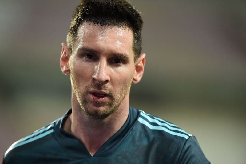 Messi has cut a despondent figure at Barcelona recently