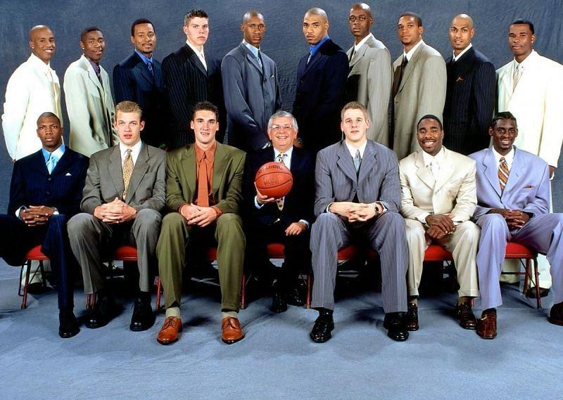 The 2000 NBA Draft class.