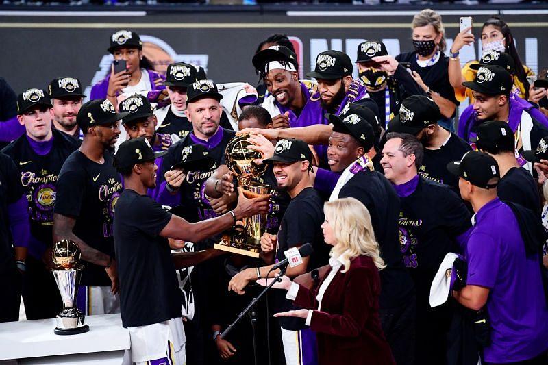 NBA Champions LA Lakers
