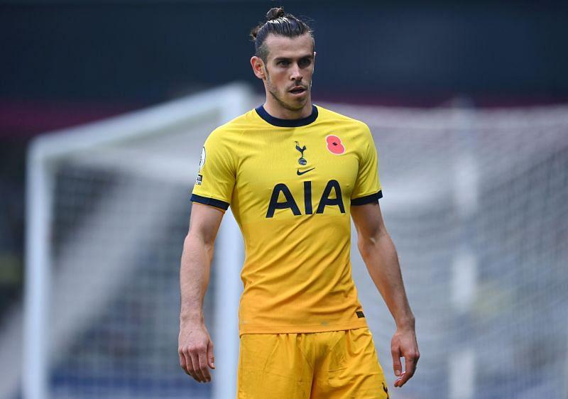 Gareth Bale in Tottenham Hotspur colours