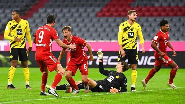 Bayern and Dortmund meet just a month after the hard-fought Supercup clash