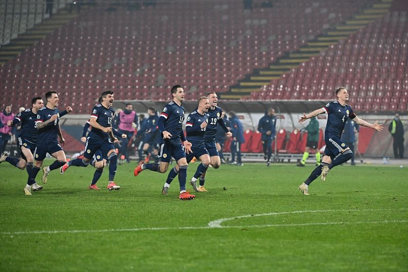 Scotland have qualified for Euro 2020