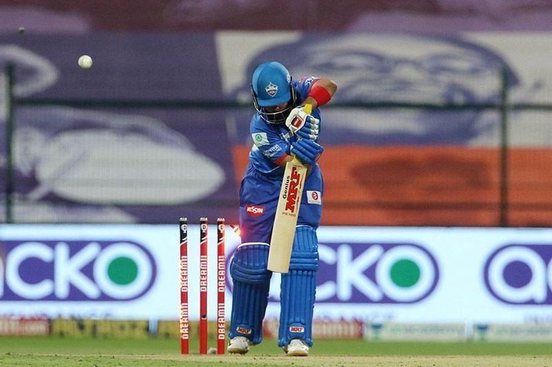 Prithvi Shaw had a dismal run for the Delhi Capitals in IPL 2020 [P/C: iplt20.com]