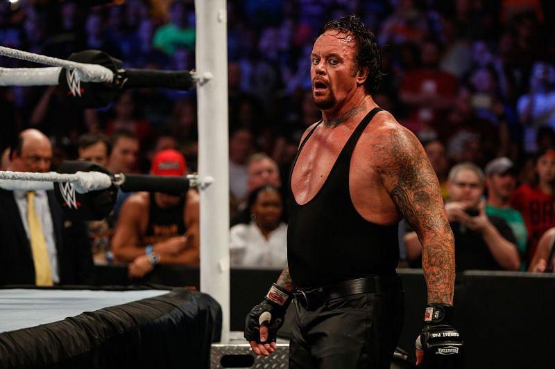 The Undertaker is a big fan of Israel Adesanya