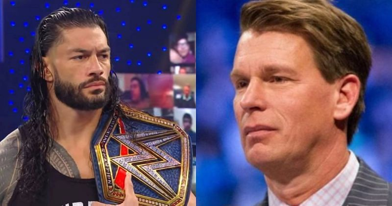 Roman Reigns and JBL.
