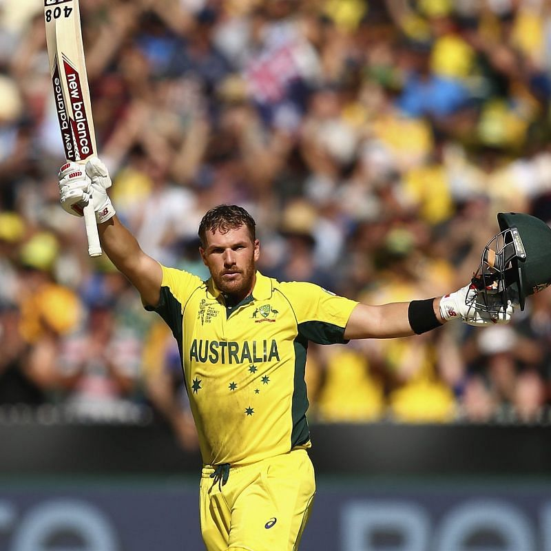 Aaron Finch is behind the disappointing IPL season