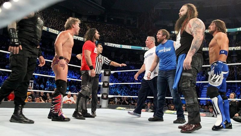 There have been some excellent inter-brand matches at Survivor Series.