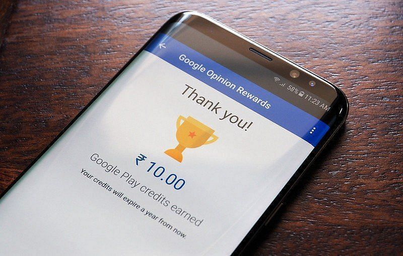 Google Opinion Rewards Poll Pay