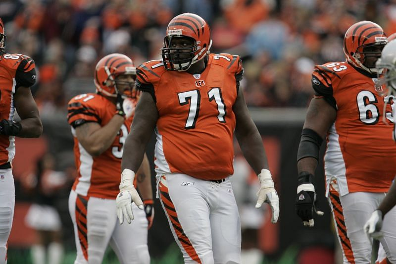 Willie Anderson with the Cincinnati Bengals