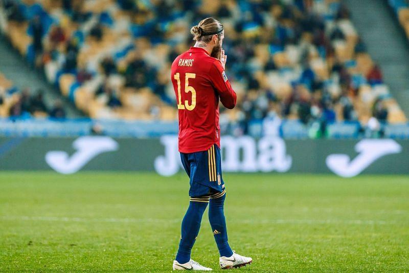 Sergio Ramos missed two penalties against Switzerland
