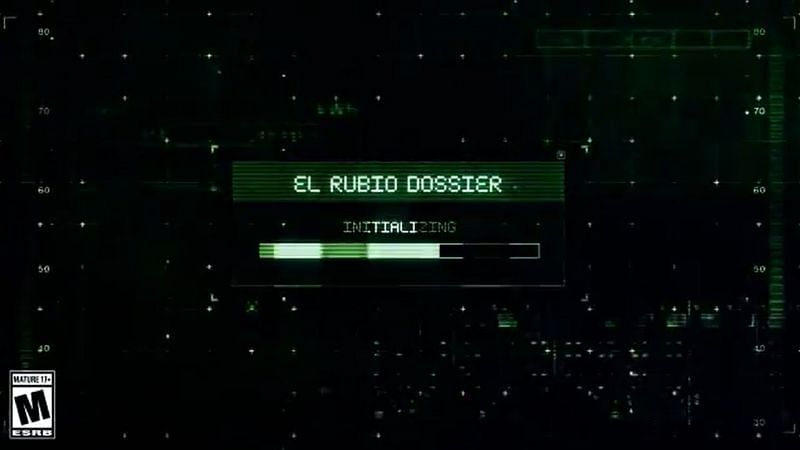 According to the dossier in the teaser, El Rubio was last spotted in LSIA (Image via Rockstar Games, Twitter)