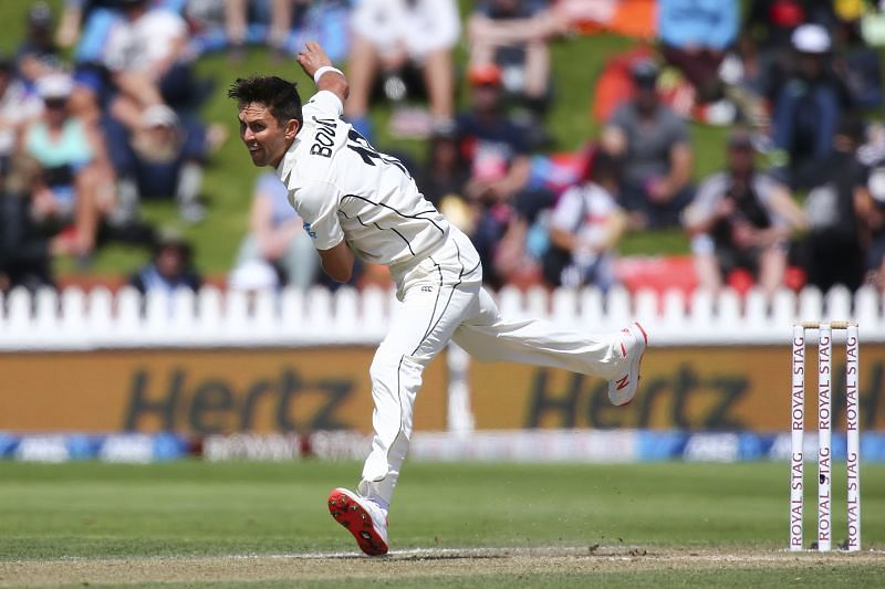Trent Boult scalped 11 wickets in the 2 Tests against India