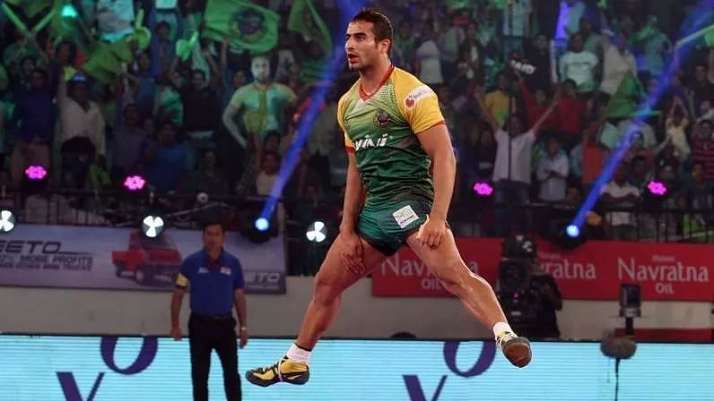 Sandeep Narwal played for Patna Pirates in the first three seasons.