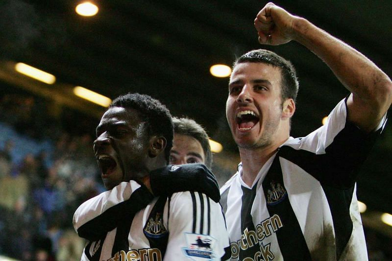 Taylor went on to become an important part of Newcastle United
