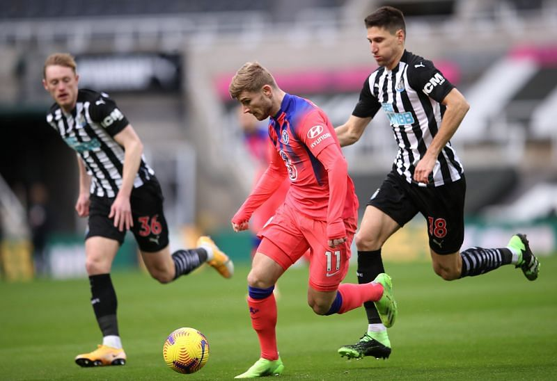 Werner was a mixed bag against Newcastle United