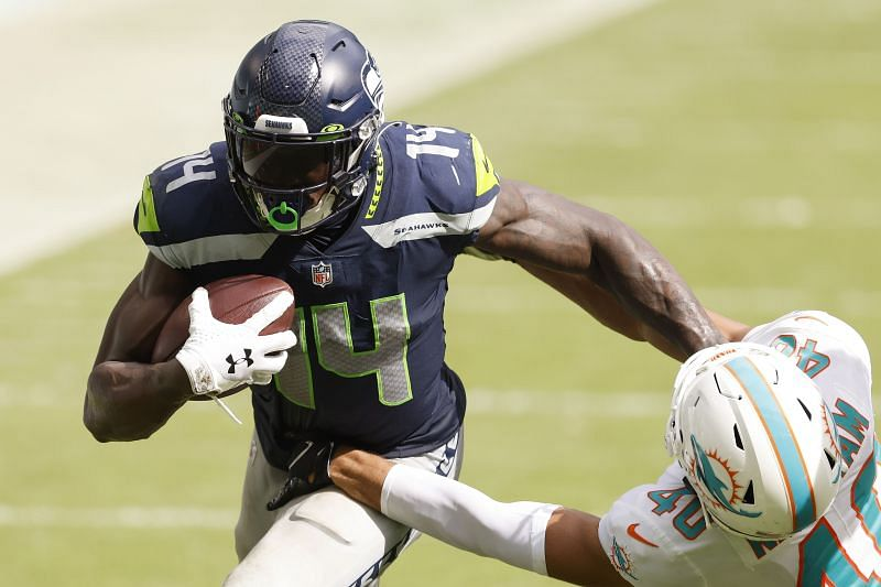 DK Metcalf is having a great second season for the Seahawks