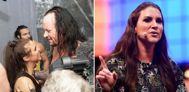 Stephanie McMahon and The Undertaker