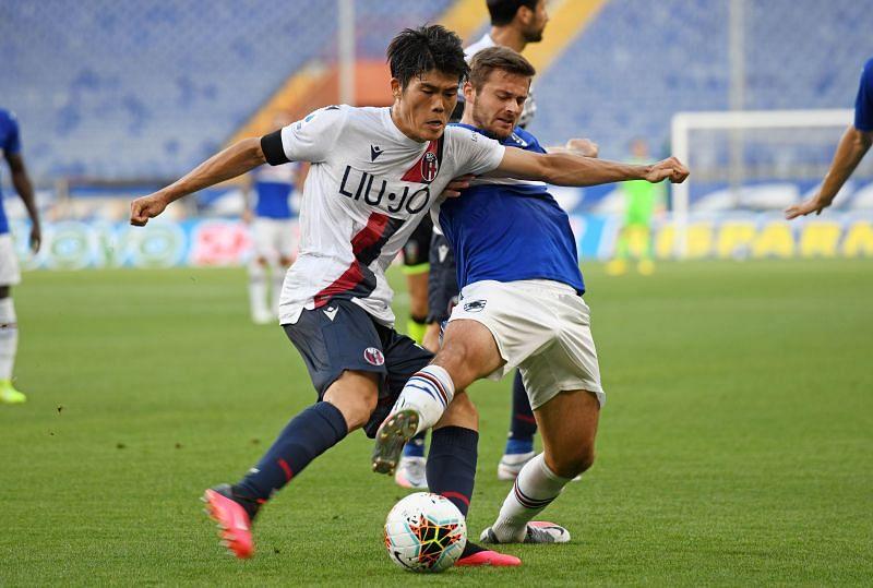 UC Sampdoria face Bologna FC in Serie A this weekend