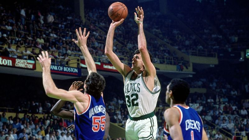 McHale had every move in the post.