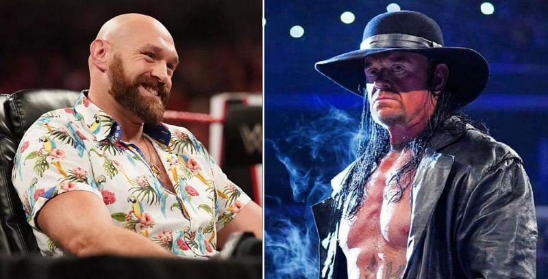 Tyson Fury and The Undertaker