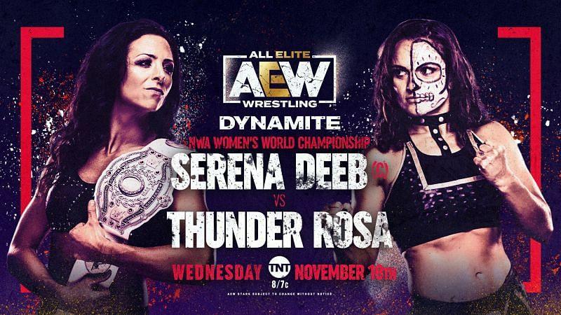 Serena Deeb will defend the NWA Women