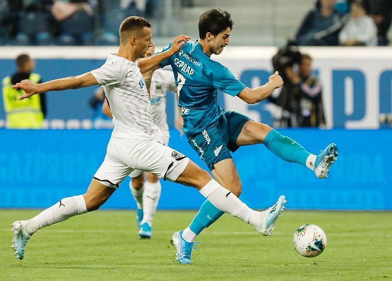 Zenit earned a massive win against Krasnodar to get their season back on track