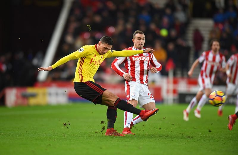 Stoke City face Watford this week
