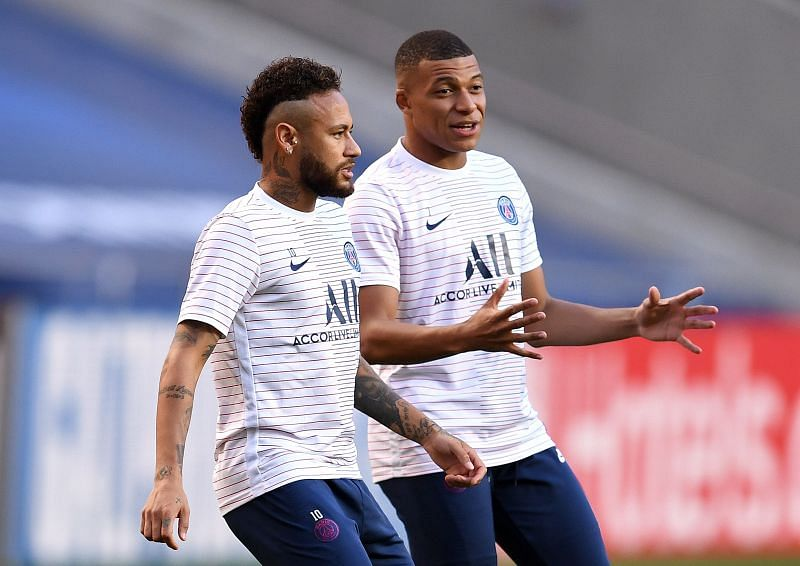 PSG stars Neymar and Mbappe