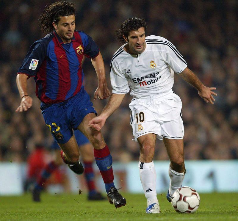 Real Madrid legend Luis Figo