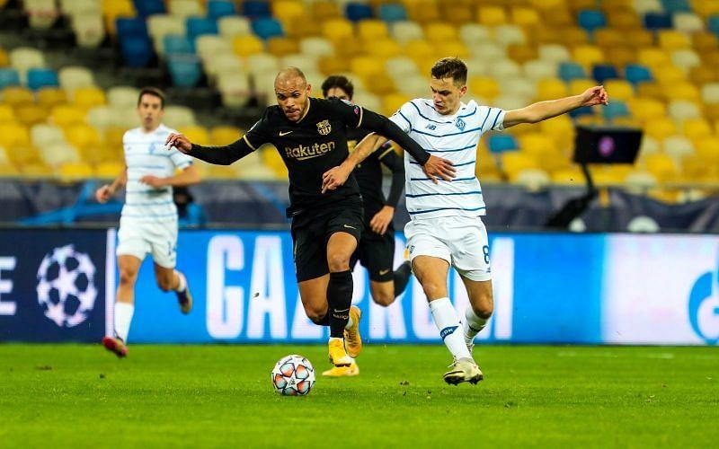 Dynamo Kyiv had a difficult game