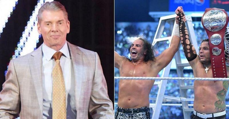 Vince McMahon; The Hardy Boyz