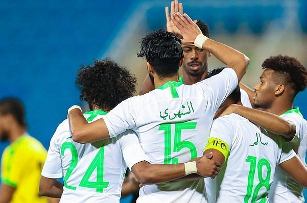 Saudi Arabia put up a dominant show against Jamaica in the first game, cruising to a 3-0 win