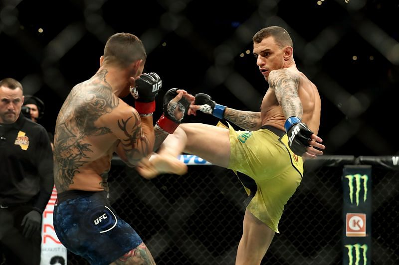 Renato Moicano is off the UFC Vegas 15 card after testing positive for COVID-19