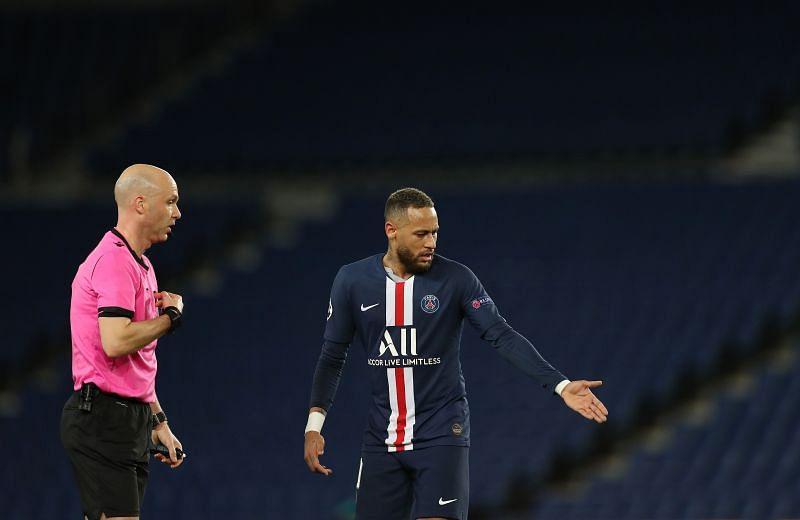 Neymar has been linked with Barcelona
