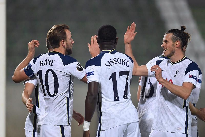 A much-changed Tottenham team defeated Ludogorets 3-1 in the Europa League
