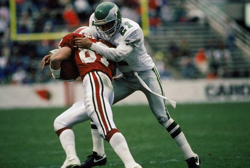 Eric Allen with the Philadelphia Eagles