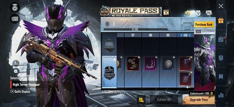 RP 100 - Reward
