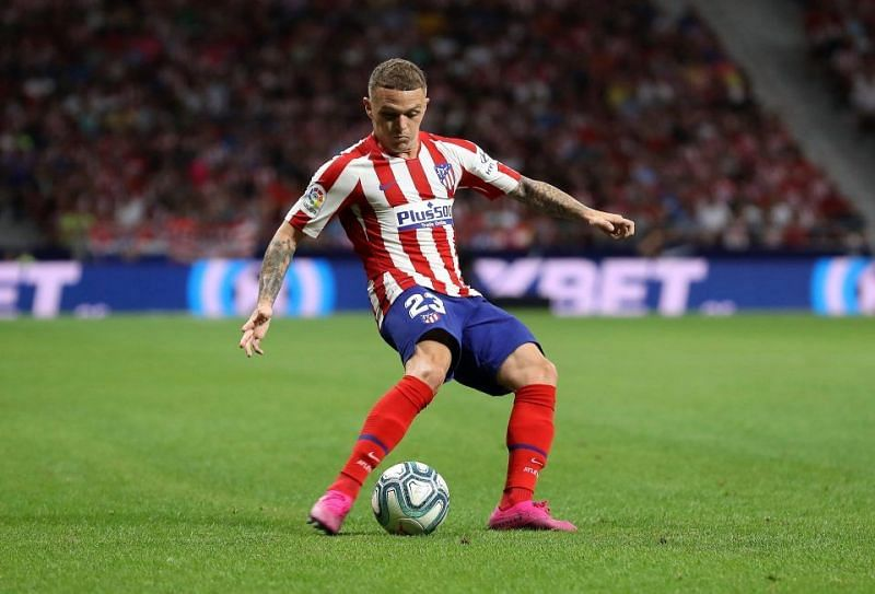 Kieran Trippier is one of the top right-backs in La Liga at the moment