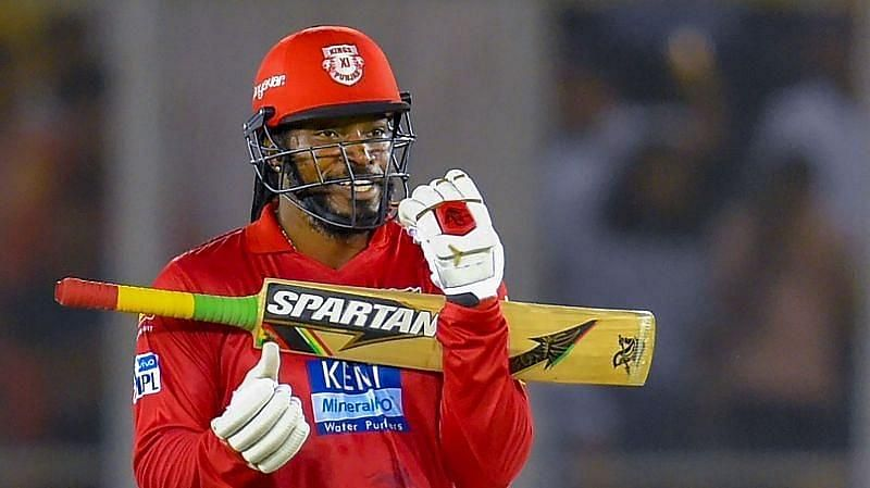 Chris Gayle tuned KXIP