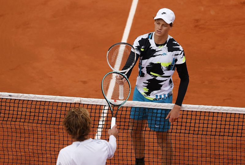 Jannik Sinner set up a clash with Rafael Nadal after beating Alexander Zverev