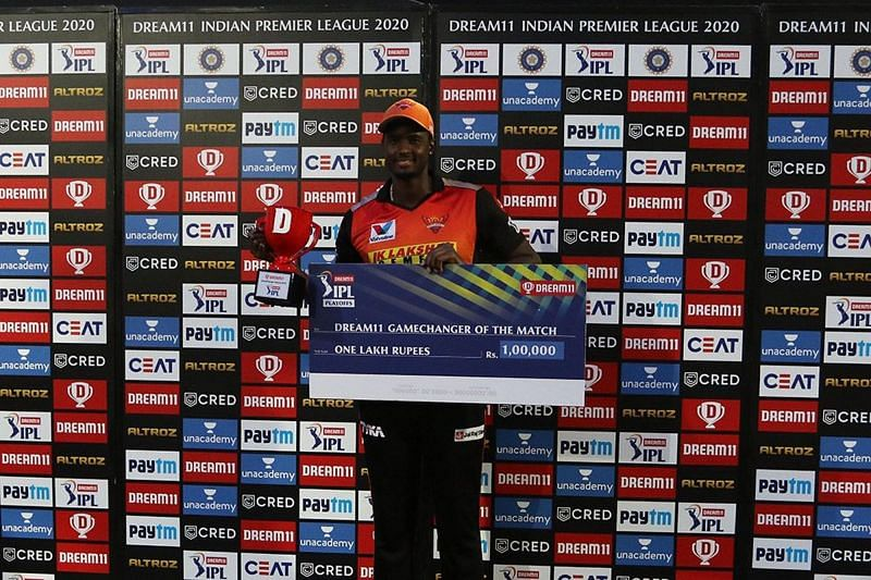 Jason Holder delivered an all-round performance for the Sunrisers Hyderabad [P/C: iplt20.com]