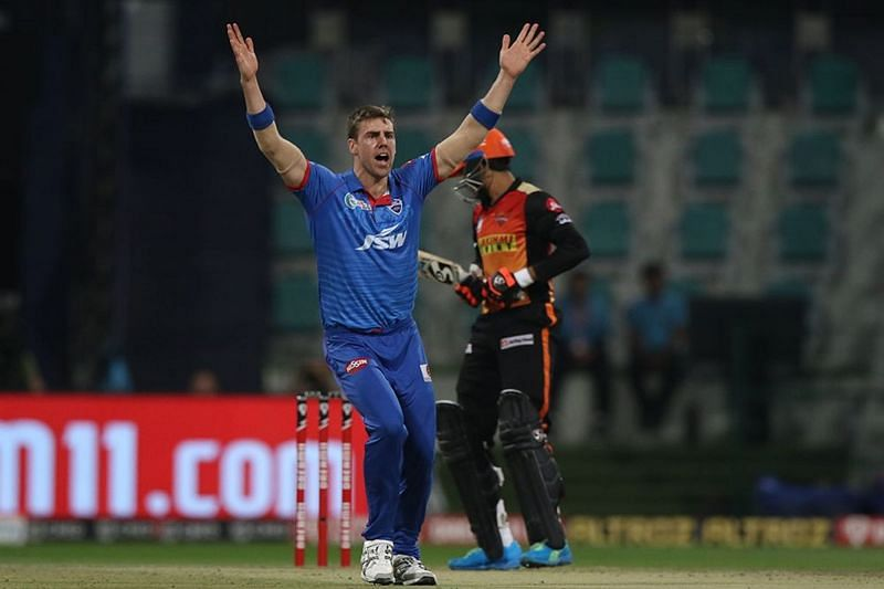 Anrich Nortje has led the Delhi Capitals pace attack along with Kagiso Rabada [P/C: iplt20.com]