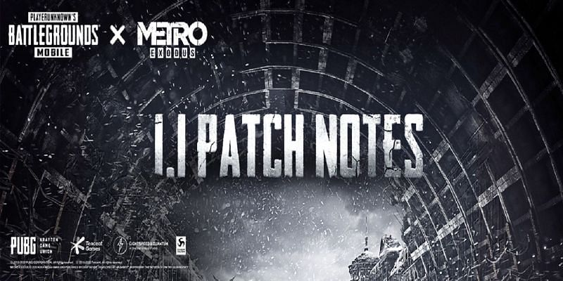 The PUBG Mobile 1.1 update, is all set to roll out on 10th November (Image via PUBG Mobile)