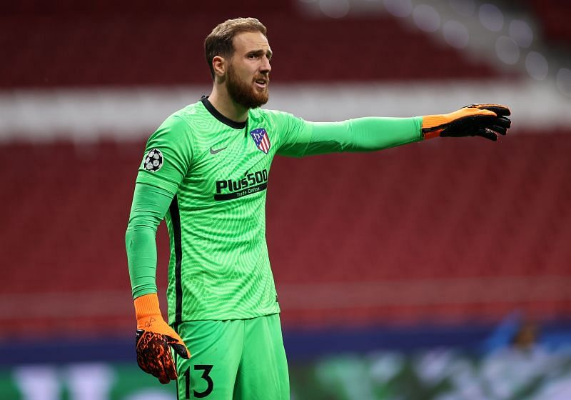 Jan Oblak has just conceded two goals in La Liga this season