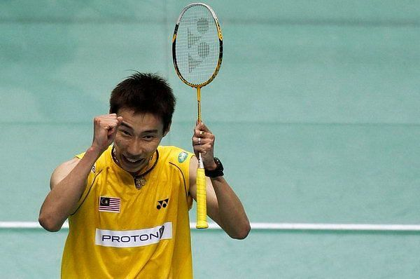 Lee Chong Wei shone brightly at the Japan Open in 2010