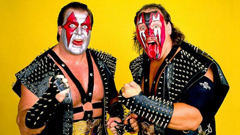AEW of FTR recently revealed that their new names are a tribute to the legendary WWE tag team, Demolition.