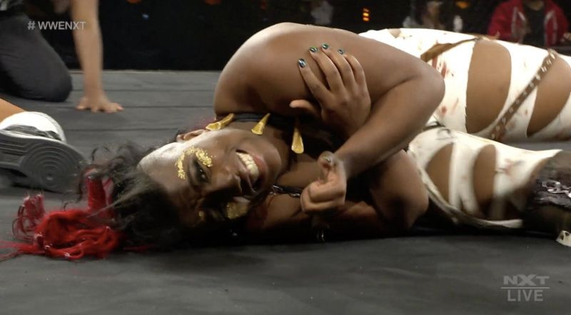 Ember Moon loses her first match back in NXT