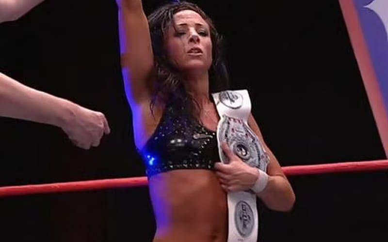 Serena Deeb won the NWA Women